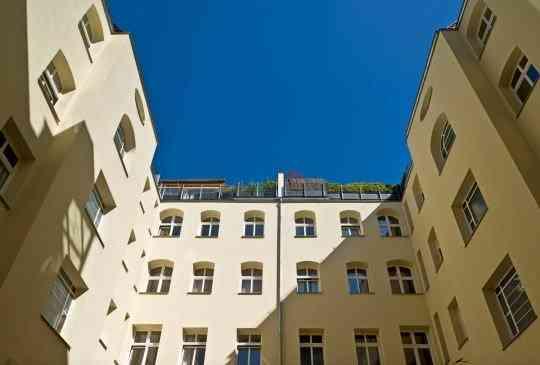 Courtyard facade