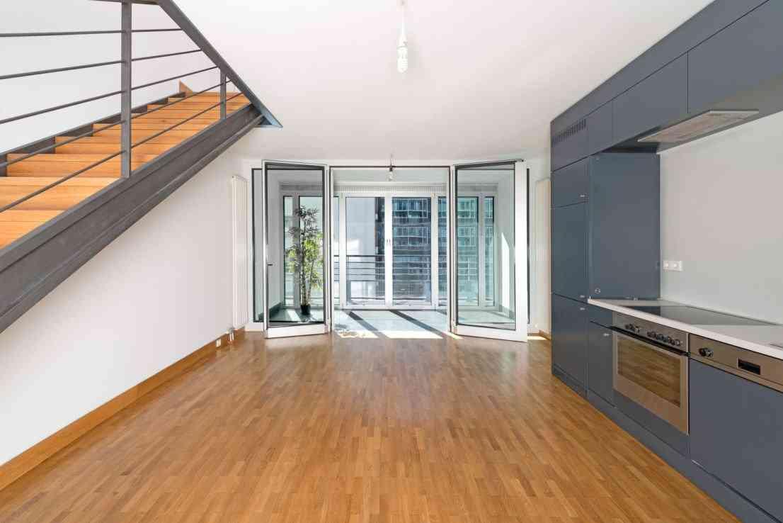 kitchen with loggia invest. Black Bedroom Furniture Sets. Home Design Ideas