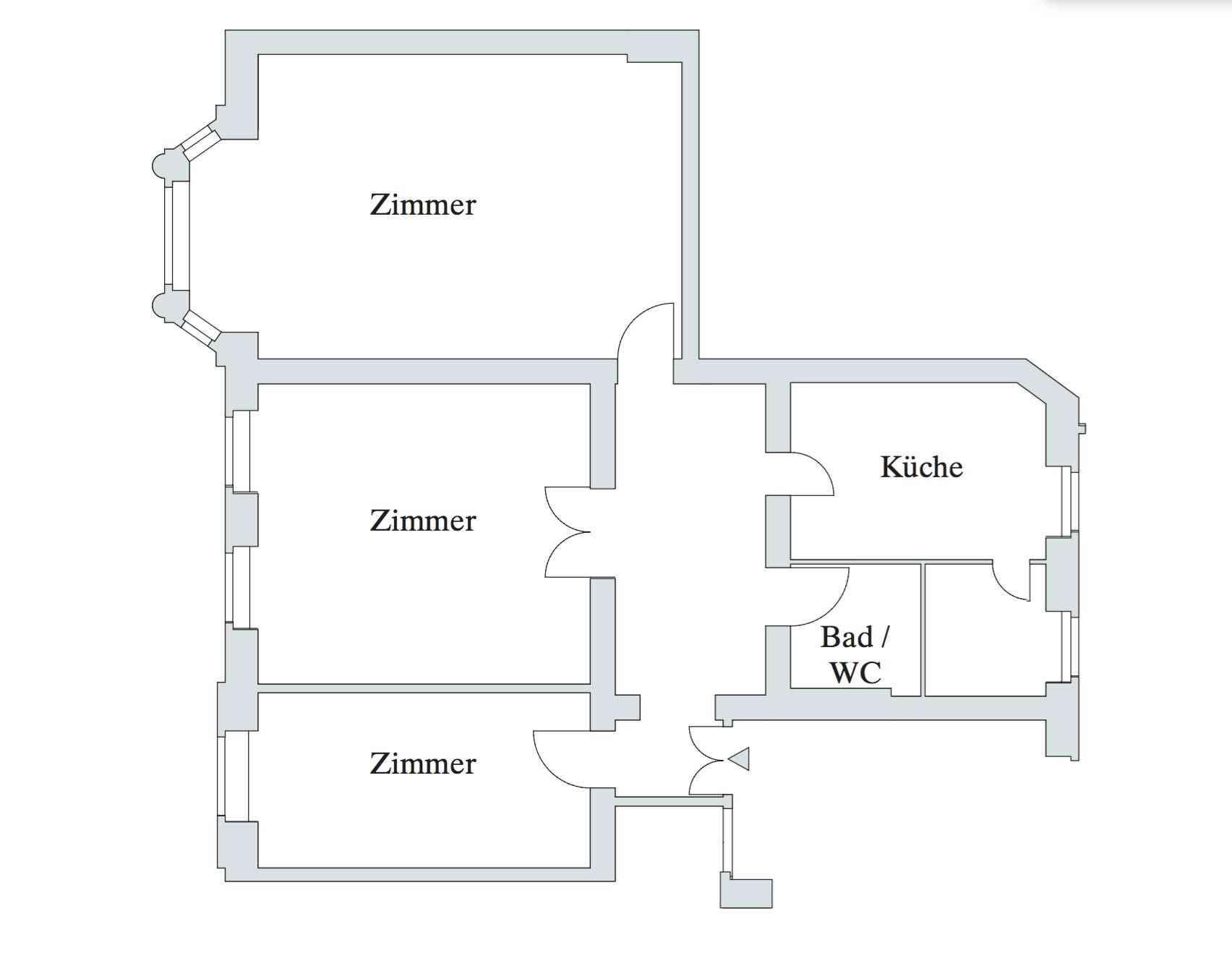 Gemütlich Probe Küche Grundriss Layout Zeitgenössisch - Ideen Für ...