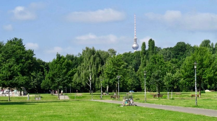 Volkspark Friedrichshain in 3 minutes
