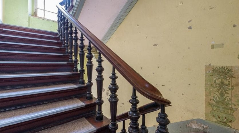 Altbaustyle stairwell