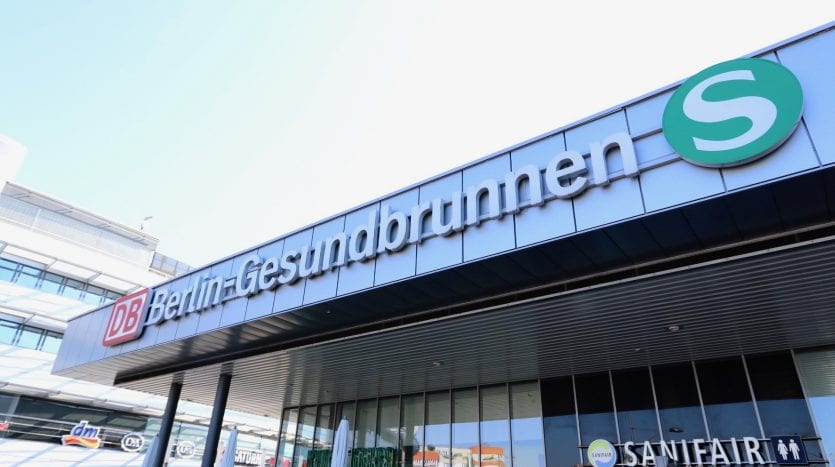 Gesundbrunnen S-Bahn and U-Bahn