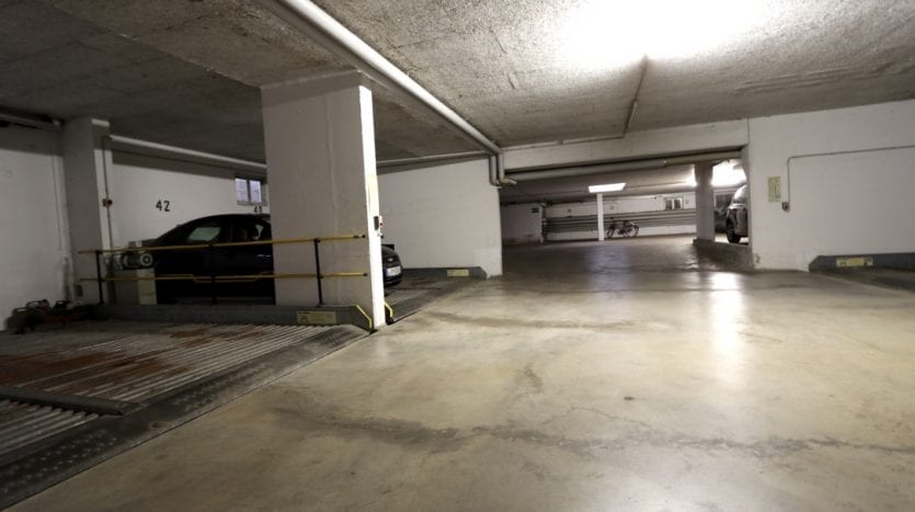 Parking lot for sale under the building