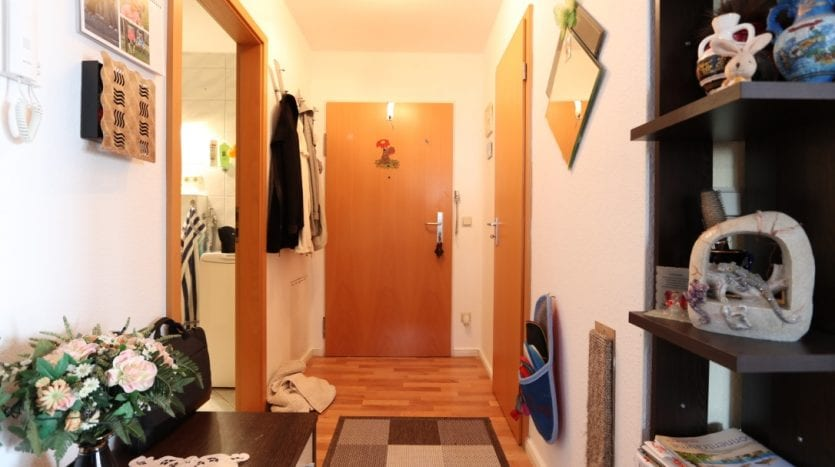 Entrance of the apartment with storage room