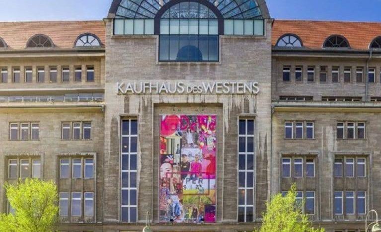The famous KaDeWe, near the apartment