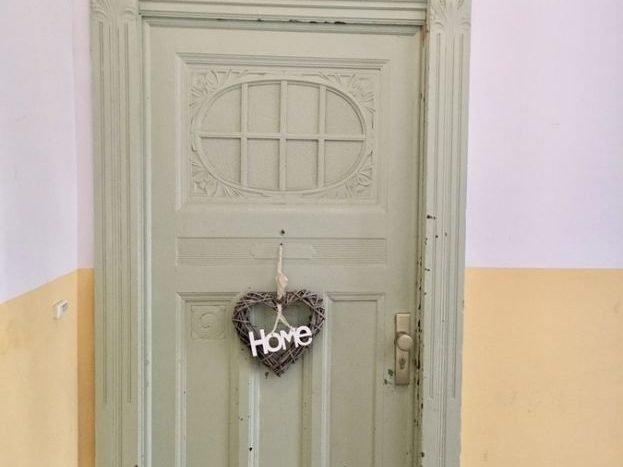 Door of the apartment